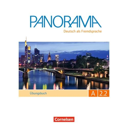 PANORAMA A2.2 ÜBUNGSBUCH TEILBAND MIT CD